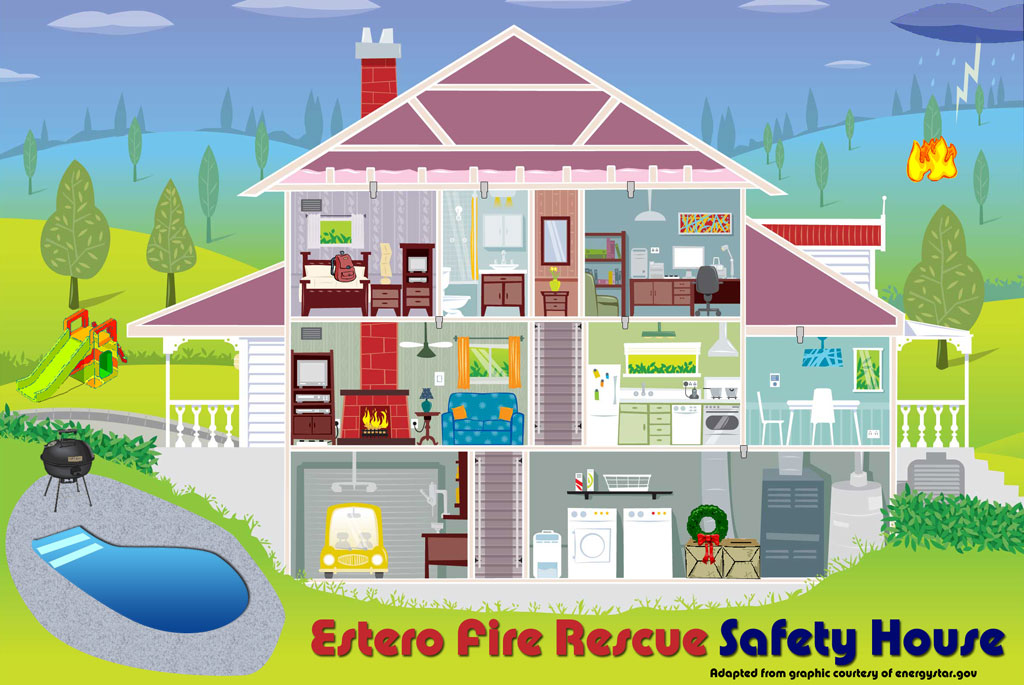 16 innovative home safety nearby louisiana for Fire safety house